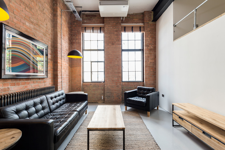 Britannia Row Modern living room by Orchestrate Design and Build Ltd. Modern
