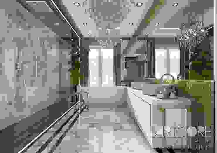 حمام تنفيذ ArtCore Design,