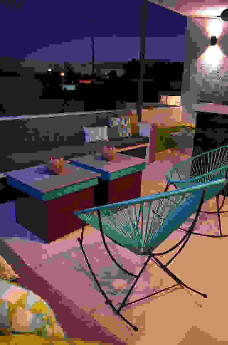Terraza SL Balcones y terrazas modernos de Workshop, diseño y construcción Moderno