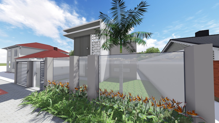 Ivonete Teixeira Arquitetura Modern garden