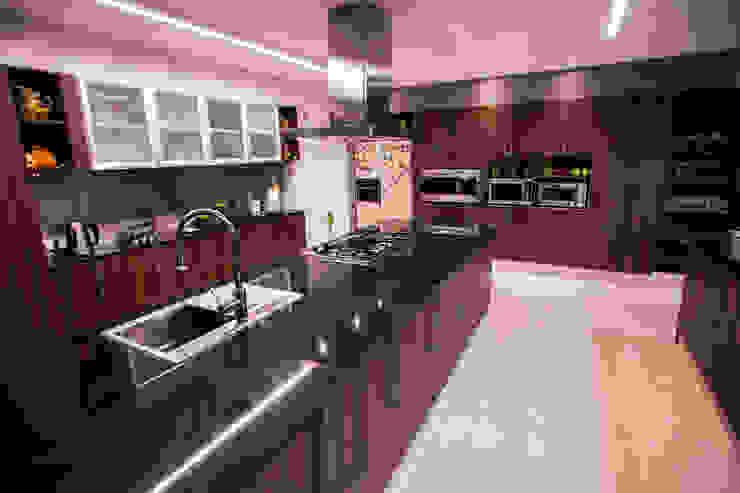 Casa Finca Cuyaya Horizontal Arquitectos Cocinas modernas: Ideas, imágenes y decoración Madera