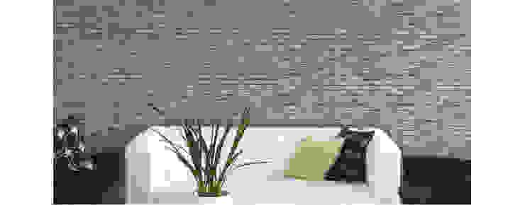 Piedra tabique Huatulco Boreal de homify Moderno Concreto reforzado