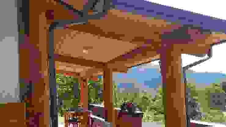 26평 소형 통나무집--강원 양구주택 by 보국주택