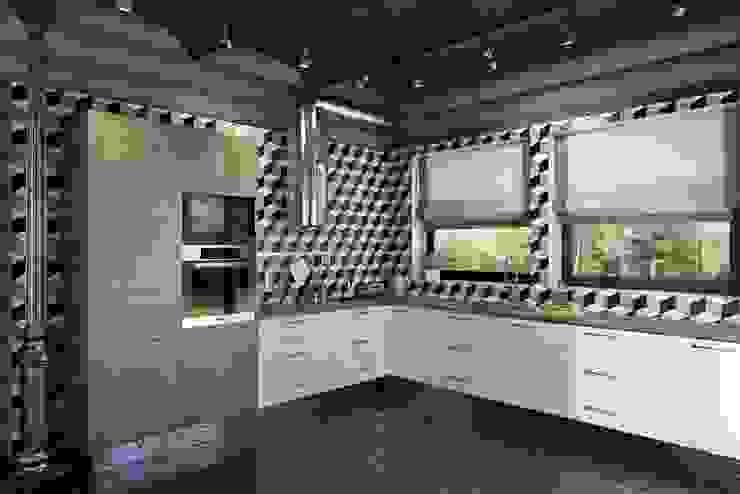 Дизайн студия Алёны Чекалиной Industrial style kitchen
