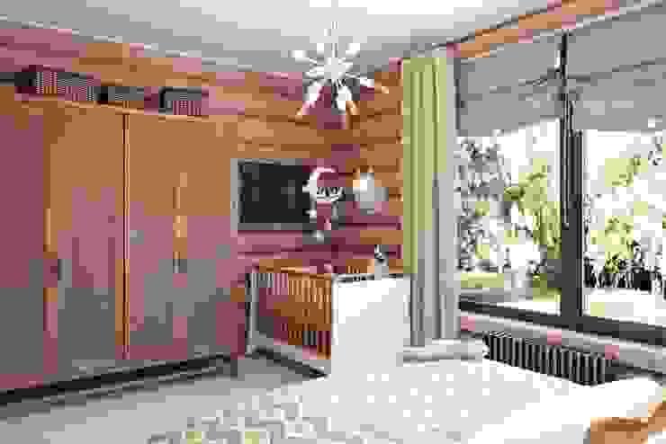 Дизайн студия Алёны Чекалиной Industrial style bedroom
