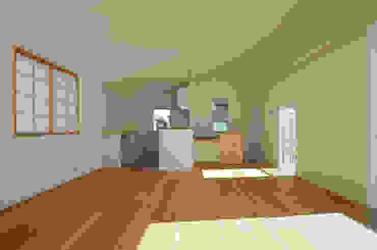 保谷O邸 モダンデザインの リビング の 遠藤誠建築設計事務所(MAKOTO ENDO ARCHITECTS) モダン