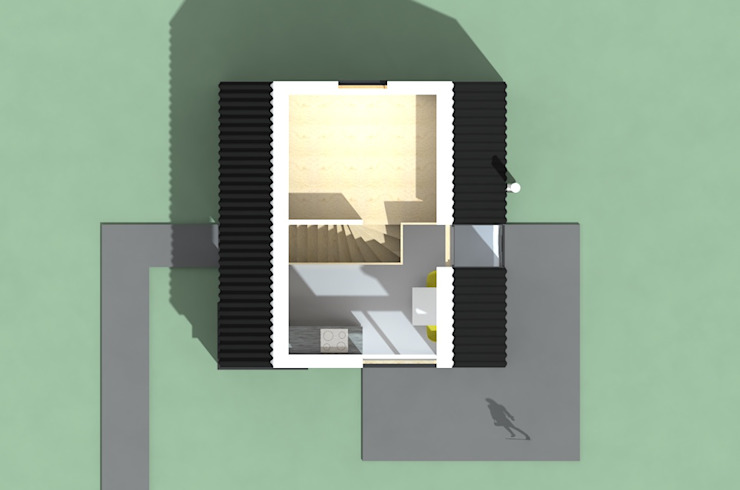 Plattegrond verdieping van Kwint architecten