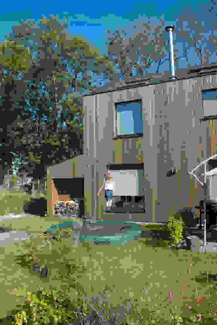 houtskeletbouw woning van WESTERBREEDTE architecten