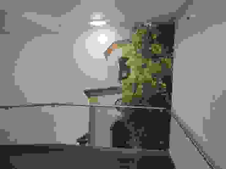 Unidade de Cuidados Continuados de Ponte de Sor Corredores, halls e escadas modernos por MARIA ILHARCO DE MOURA ARQUITETURA DE INTERIORES E DECORAÇÃO Moderno