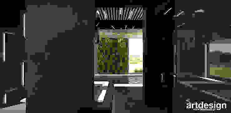 luksusowy dom z basenem ARTDESIGN architektura wnętrz Nowoczesny basen