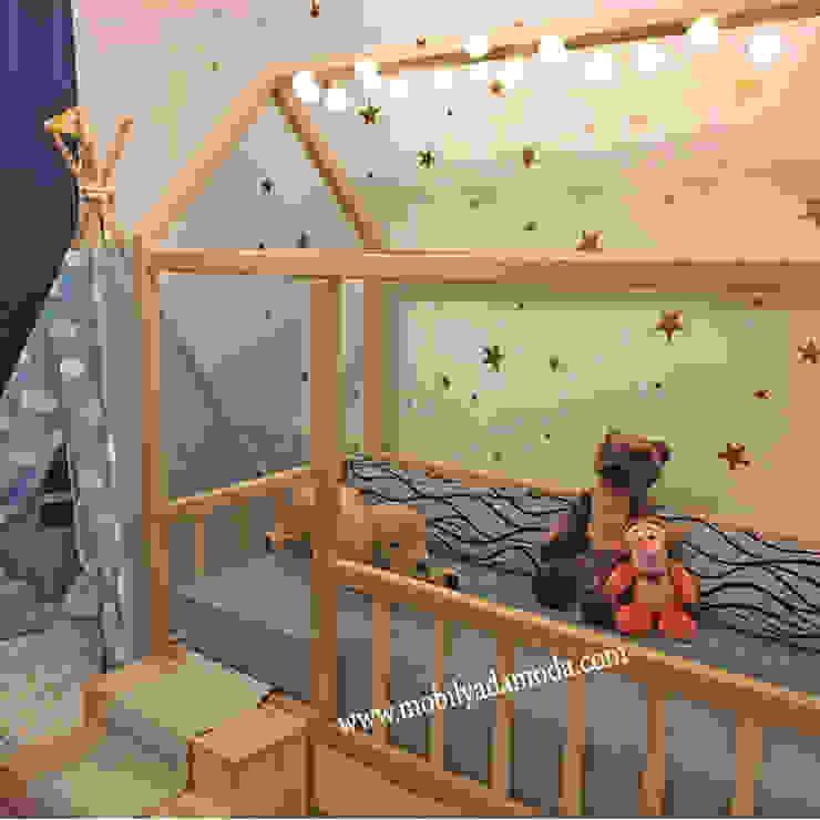 Özel Tasarım Montessori Bebek Çocuk Odası Modern Çocuk Odası MOBİLYADA MODA Modern Ahşap Ahşap rengi
