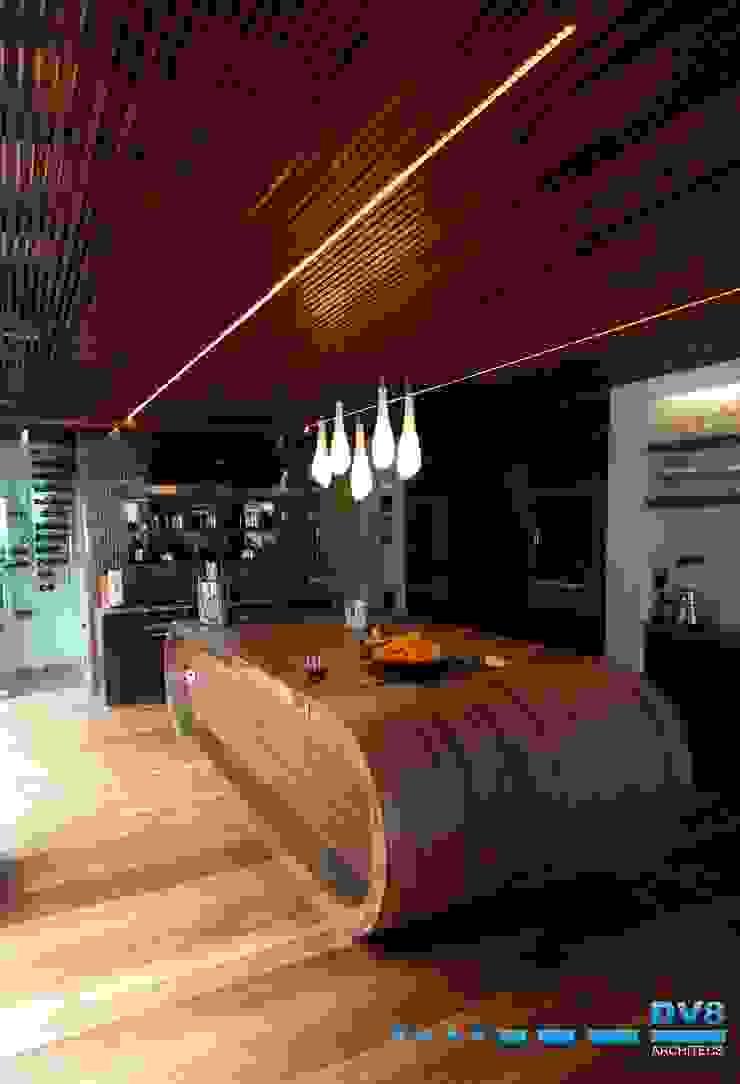 Preller Clifton Modern kitchen by DV8 Architects Modern