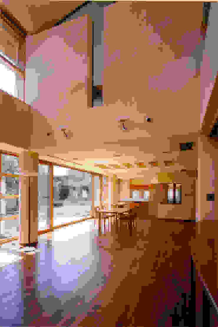 Comedores de estilo mediterráneo de 豊田空間デザイン室 一級建築士事務所 Mediterráneo