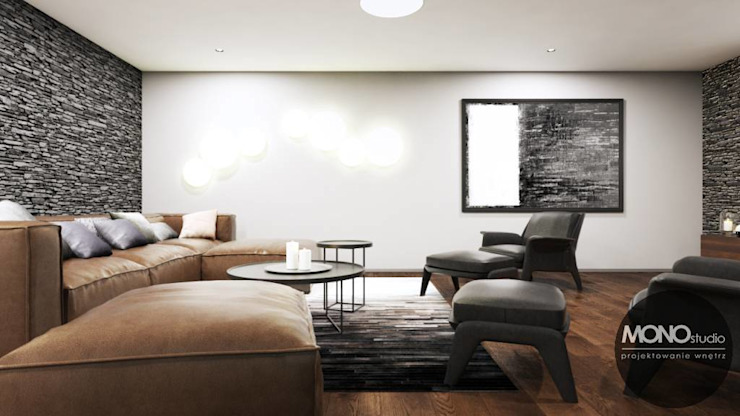Modern style media rooms by MONOstudio Modern