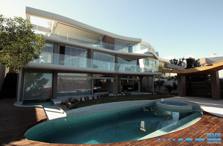 Preller Clifton Modern houses by DV8 Architects Modern