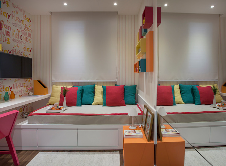 homify Eclectic style bedroom MDF Multicolored
