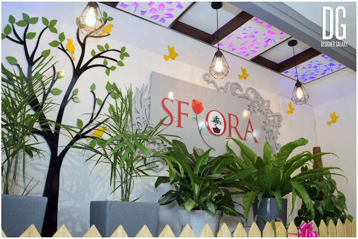 SFLORA Modern offices & stores by DESIGNER GALAXY Modern
