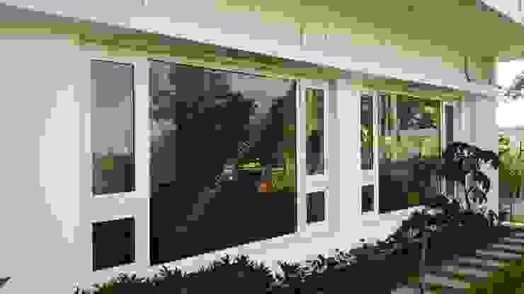Elegant Windows & Doors :  uPVC windows by Green Home Solution,Asian