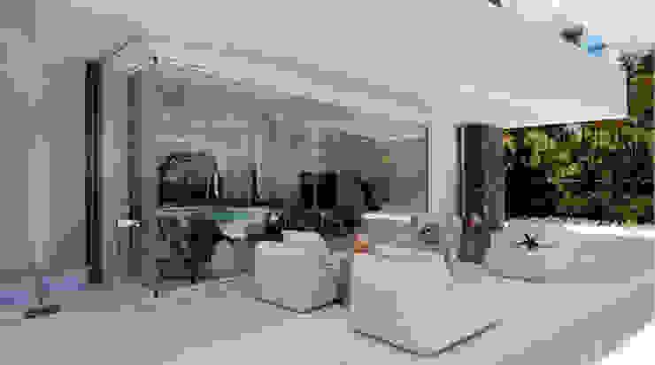 Fenêtres & Portes modernes par AYUSO EURO SYSTEMS, S.A. DE C.V. Moderne Aluminium/Zinc