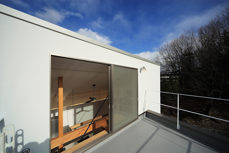 haus-gap 北欧デザインの テラス の 一級建築士事務所haus 北欧