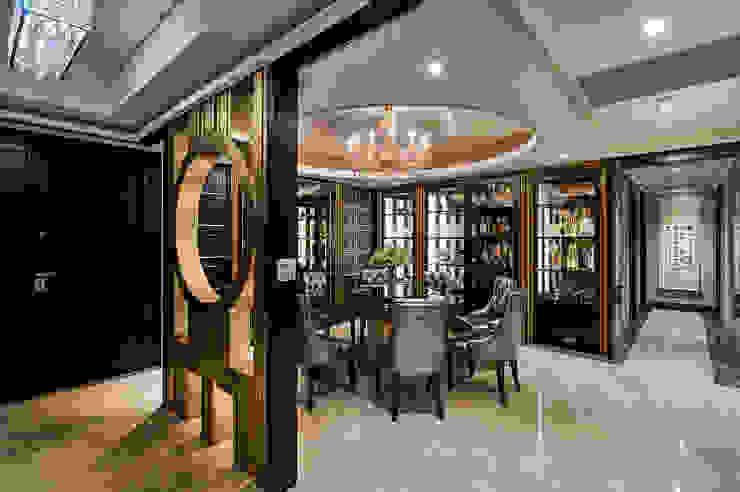 宮廷奢華!金雕細琢的穹頂燈影 根據 青瓷設計工程有限公司 古典風