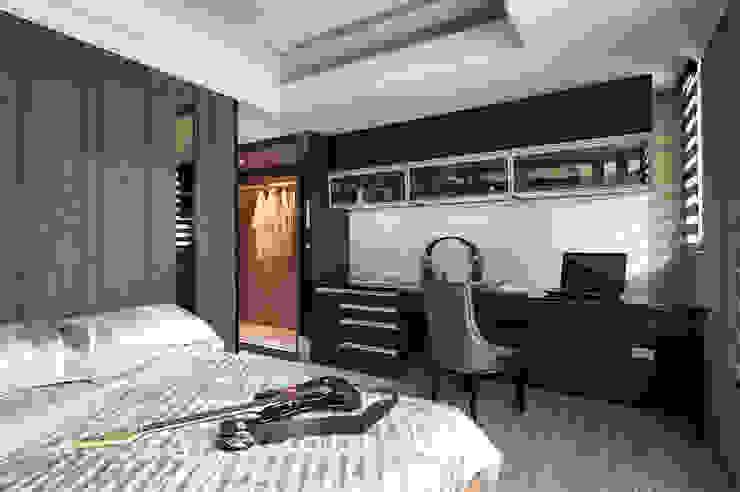 Chambre classique par 青瓷設計工程有限公司 Classique