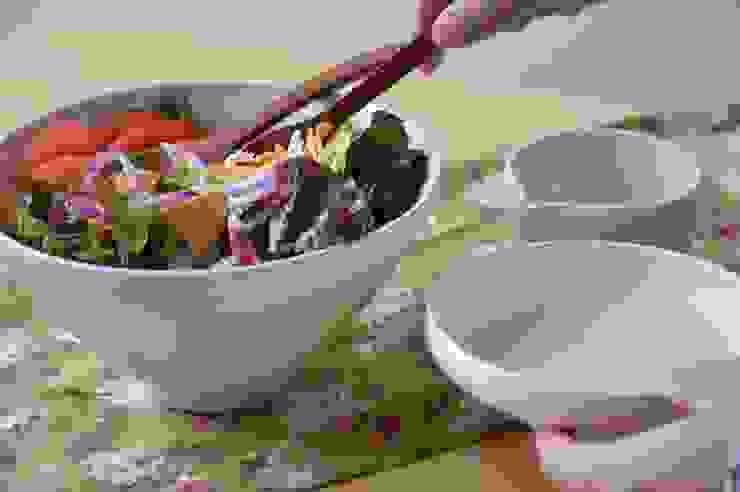 White series -Bowl-: suzugamaが手掛けた現代のです。,モダン 陶器