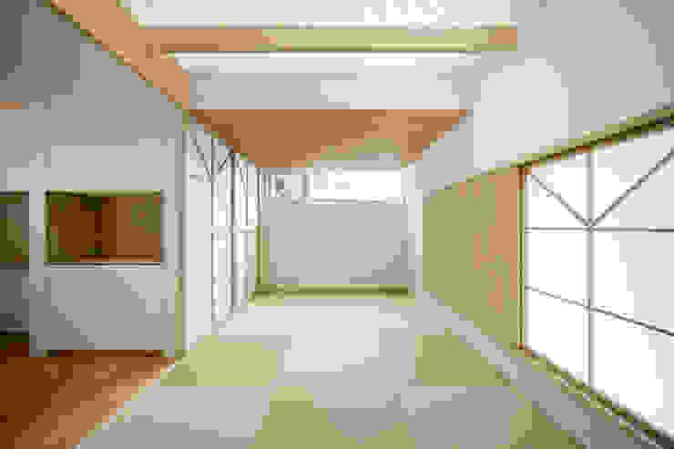 โดย 富永大毅建築都市計画事務所 เอเชียน ไม้ Wood effect