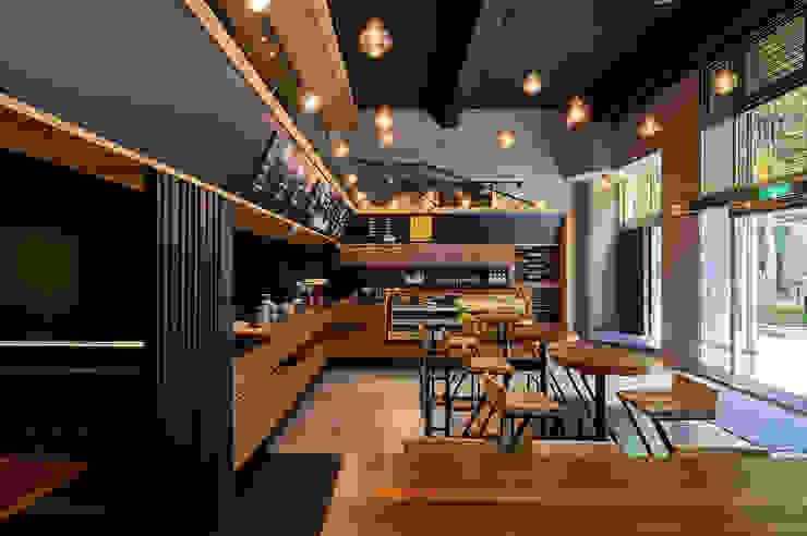 輕工業風粗獷色調,為自然纖活美食提味-左先生的西式廚房 根據 青瓷設計工程有限公司 工業風