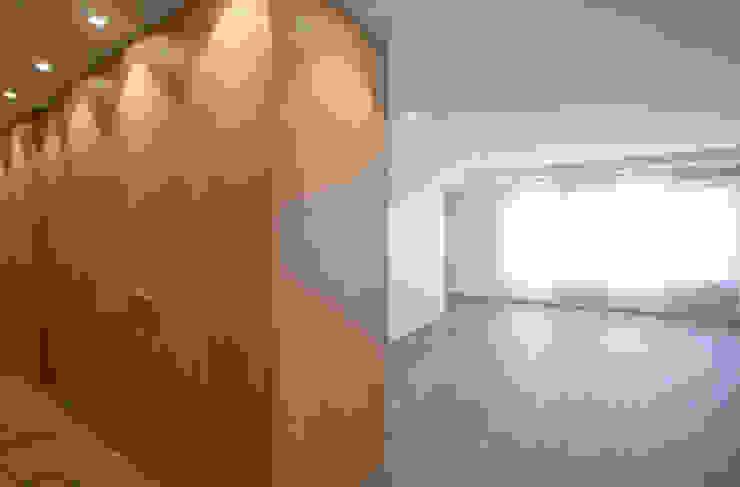 Salón Salones minimalistas de Bocetto Interiorismo y Construcción Minimalista Madera Acabado en madera