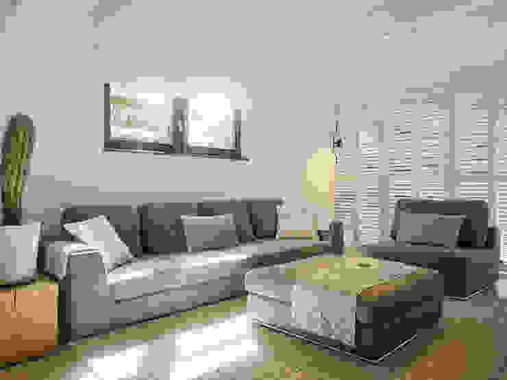 Duynvoet Schoorl nr. 05 Moderne woonkamers van Hinabaay Modern