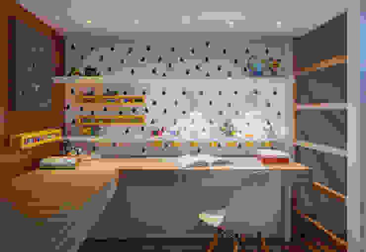 Quarto de Menina Carmen Calixto Arquitetura Quarto infantil moderno MDF Amarelo