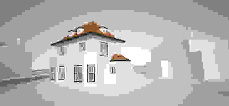 Huis SH in 3D getekend Moderne slaapkamers van Urban Pioneers Modern
