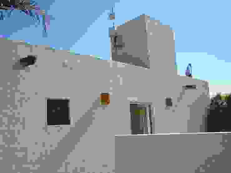 Casa Gonzalez Casas modernas de SG Huerta Arquitecto Cancun Moderno Caliza