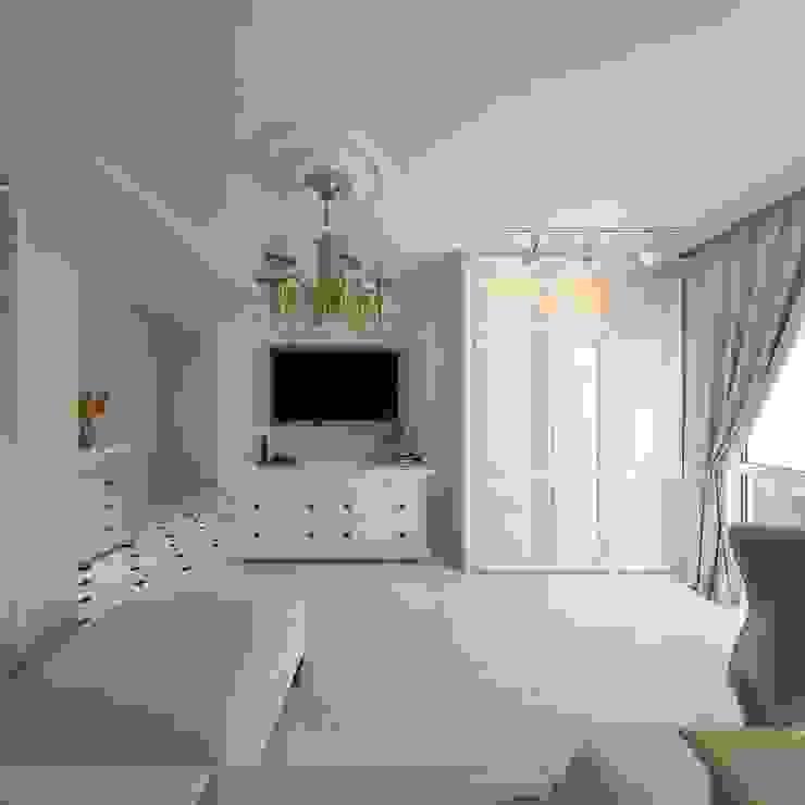 Klassische Wohnzimmer von Дизайн-бюро Анны Шаркуновой 'East-West' Klassisch