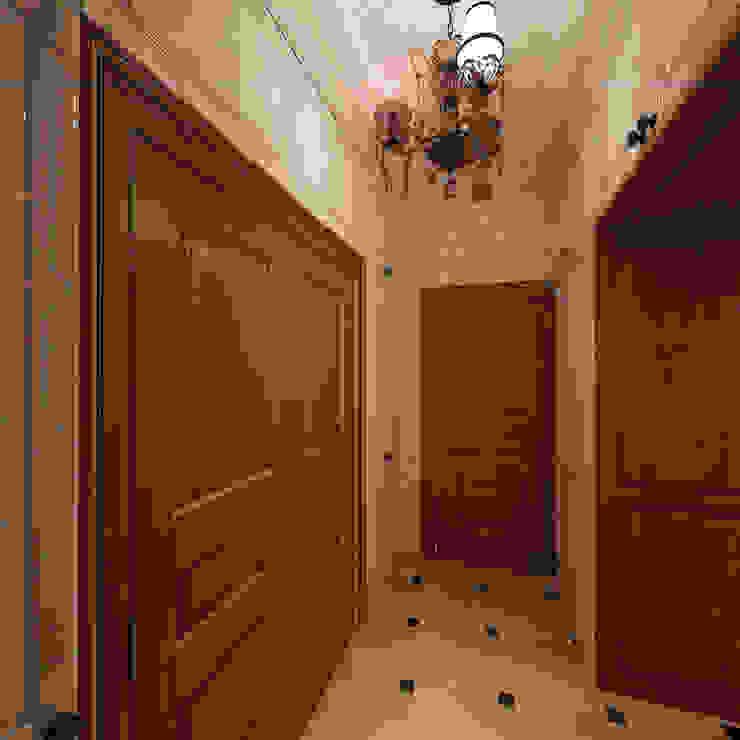 الممر والمدخل تنفيذ Дизайн-бюро Анны Шаркуновой 'East-West',