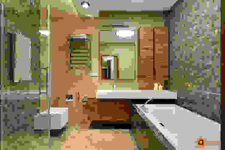 Minimalist style bathroom by Artichok Design Minimalist Ceramic
