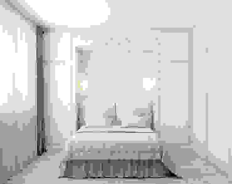 Dormitorios escandinavos de Marina Sarkisyan Escandinavo