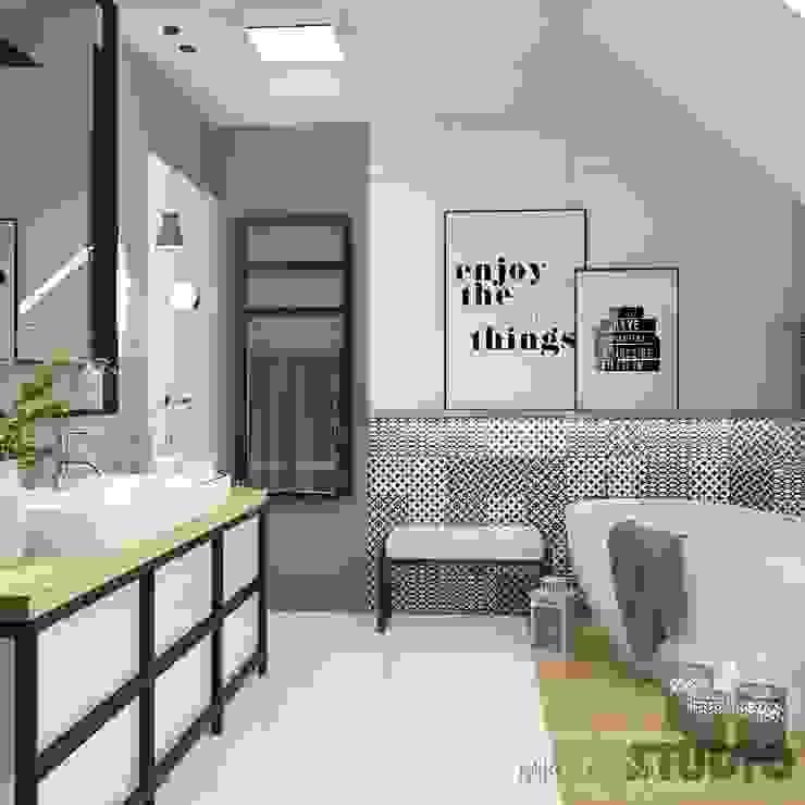 Industrial style bathroom by MIKOLAJSKAstudio Industrial