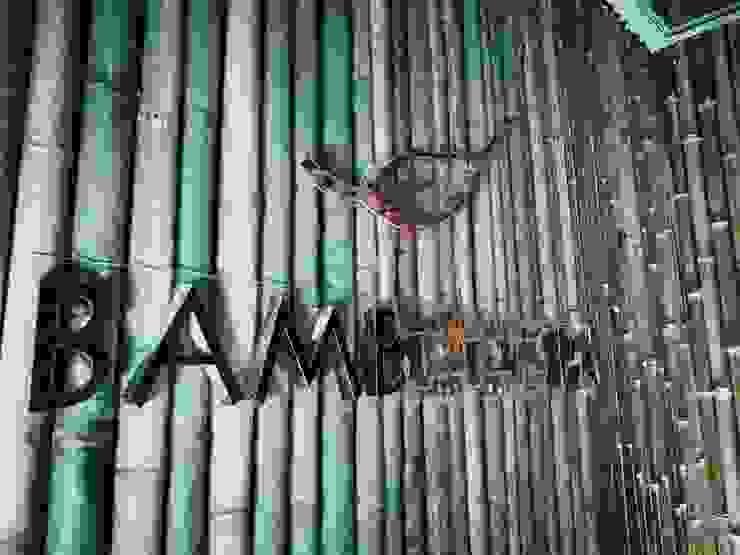 Bamboo spa and little dimsum โดย Glam interior- architect co.,ltd เอเชียน ไม้ไผ่ Green