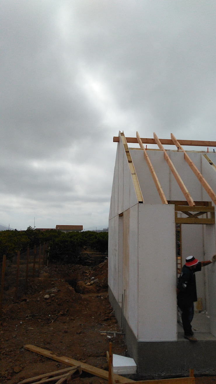 Construcción casa panel sip de Home construction