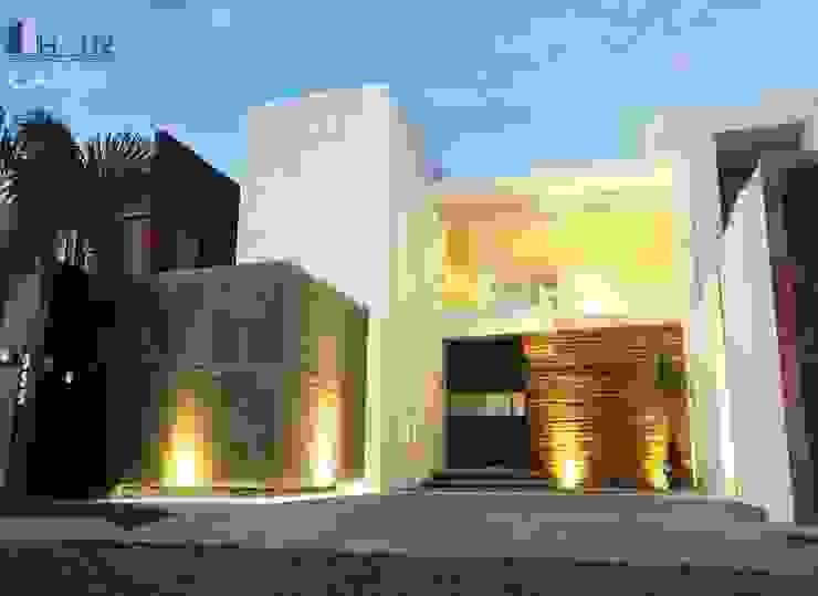 CASA LF Casas modernas: Ideas, diseños y decoración de HAUZ-ARQ Moderno