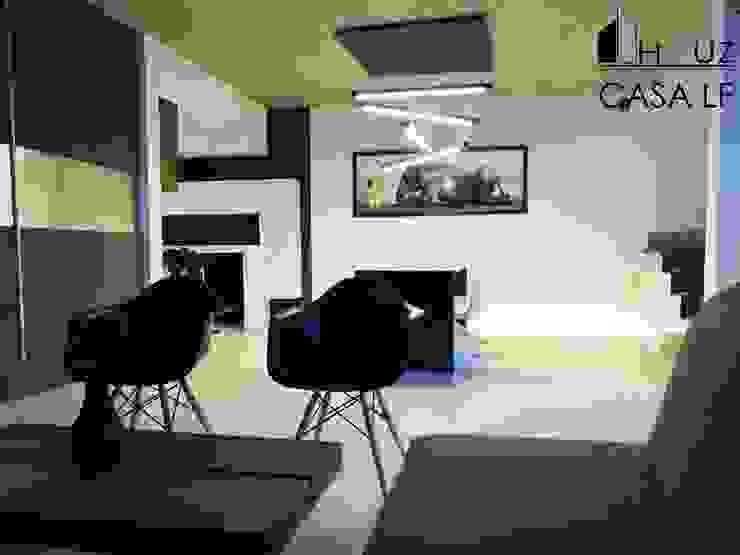 Salas modernas de HAUZ-ARQ Moderno