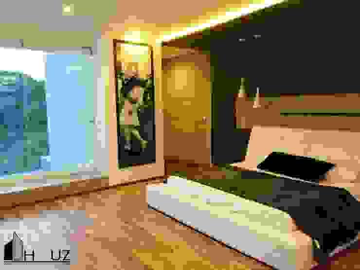 Dormitorios de estilo moderno de HAUZ-ARQ Moderno