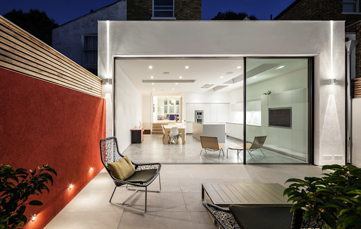 Chiswick House, London W14 Modern houses by AU Architects Modern