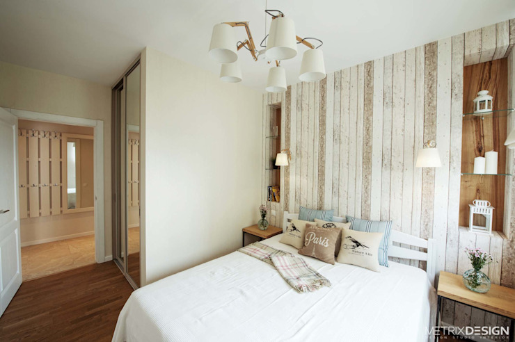 Dormitorios de estilo  por metrixdesign