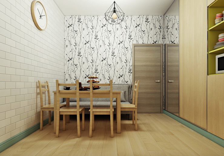 Comedores escandinavos de Orlova-design Escandinavo