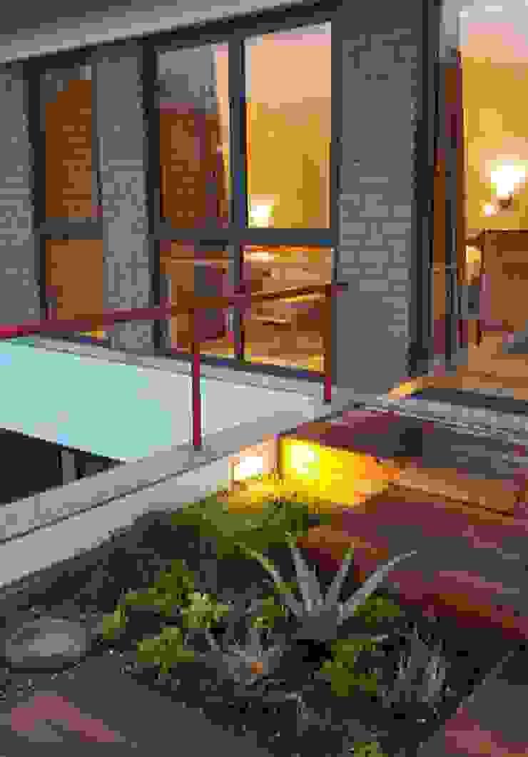 roof garden Modern garden by Human Voice Architects Modern