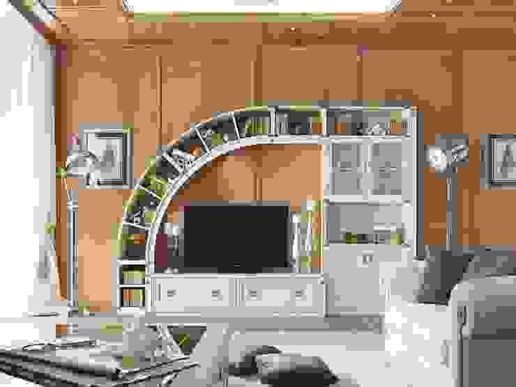 Vintage Tarzı Yaşam Üniteleri Klasik Oturma Odası Evinin Ustası Klasik