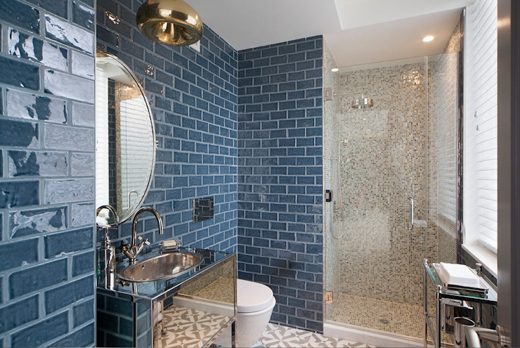 Bathroom by Joe Ginsberg Design, Modern